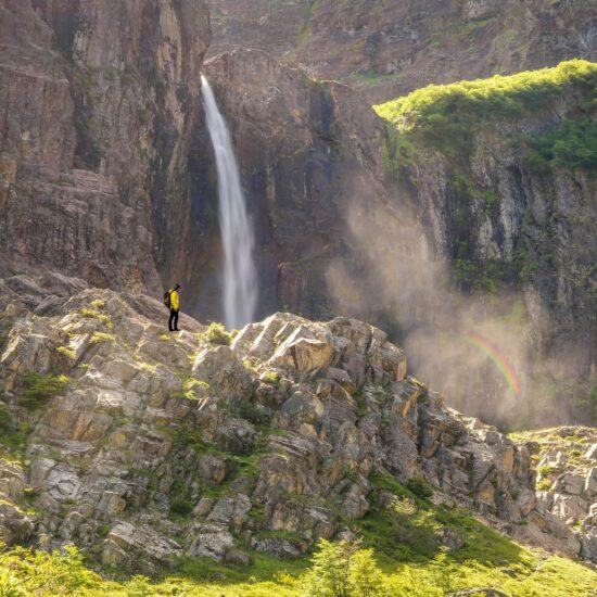 Argentina-Bariloche-Waterfall
