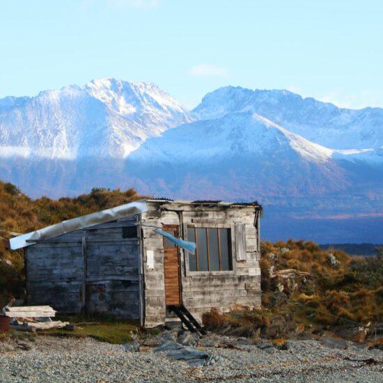 Argentina-Ushuaia-Wooden-House