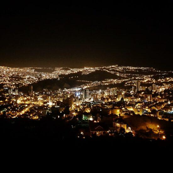 Bolivia-La-Paz-Night
