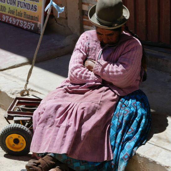 Bolivia-Titicaca-Copacabana-Native