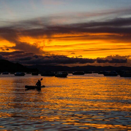 Bolivia-Titicaca-Copacabana-Sunset