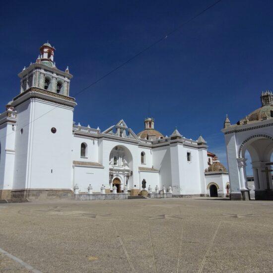 Bolivia-Titicaca-Lake-Copacabana-Church
