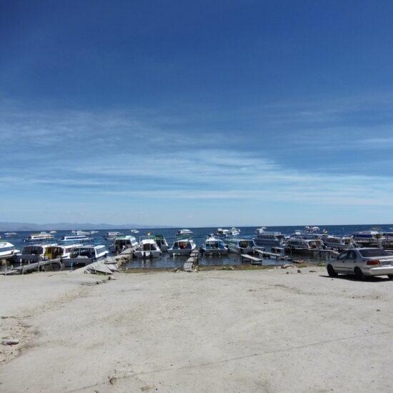 Bolivia-Titicaca-Lake-Copacabana-Port