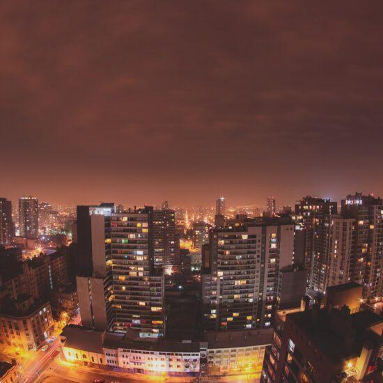Chile-Santiago-de-Chile-Night