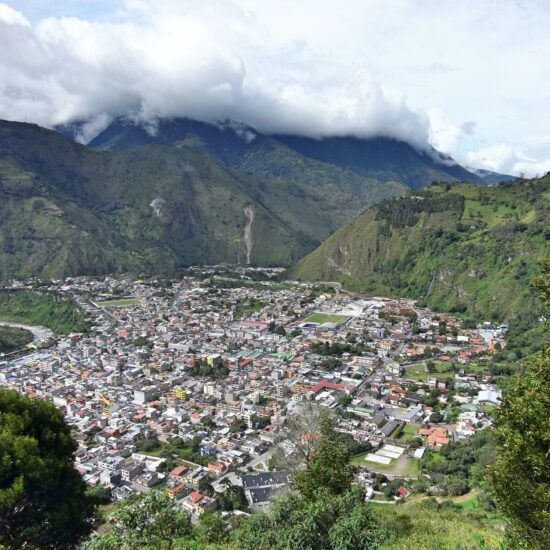 Ekvador-Banos